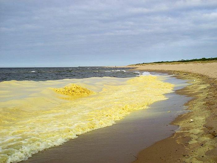 Почему красное белое и желтое моря так называются