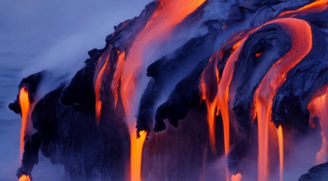Вулканы, магма и лава